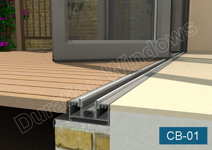 Continental Folding Doors Threshold Options Low