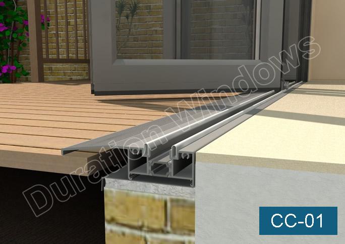Continental Folding Doors Threshold Options Low