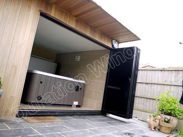 Durafold Slim Line Bi Folding Doors Images Gallery