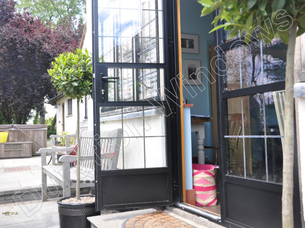 Heritage Stepped Steel Replacement Doors Gallery