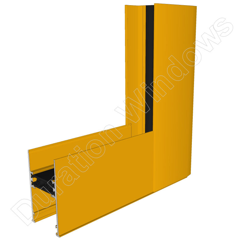 Duraslide 2000 aluminium sliding patio doors standard for Saffron yellow paint color
