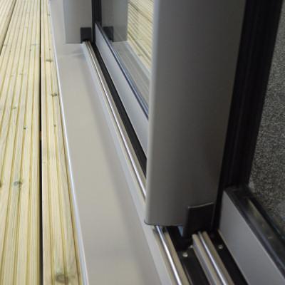 Duraslide 2000 Aluminium Sliding Patio Doors Security