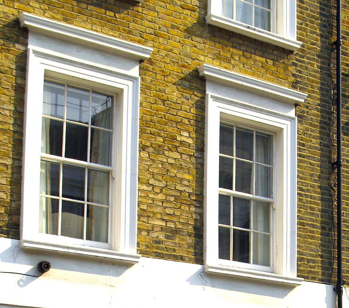 Vertical Sliding Aluminium Sash Windows