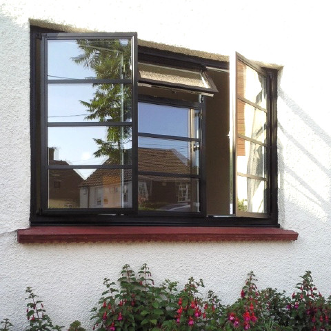 Steel Replacment Aluminium Windows