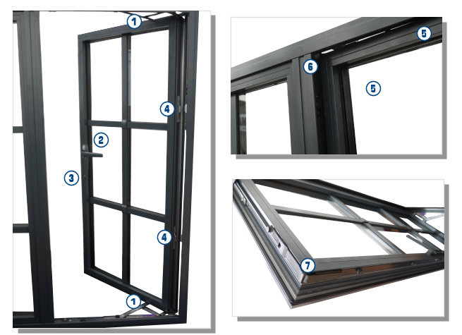 Aluminum Window Protection : Secure heritage windows steel window replacements high