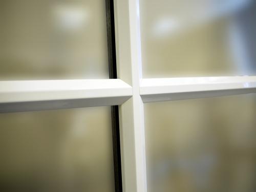 Black Window Glazing Putty : Clip on a shaped astragal bars duration windows