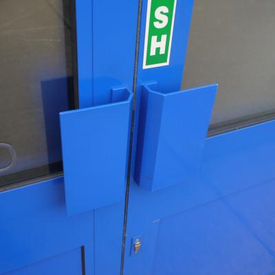 Shop Doors And Commercial Entrances Hardware Options