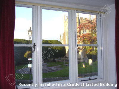 London Secondary Glazing Aluminium Secondary Glazing
