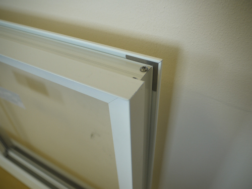 Secondary Glazing Slim Line Equal Leg System