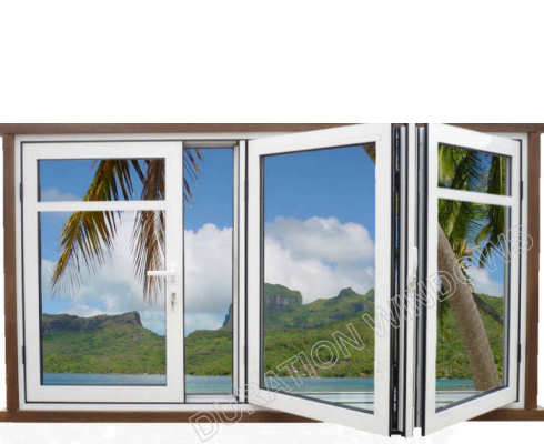 Durations Aluminium Bifold Sliding Folding Windows