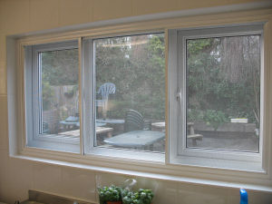 Flyscreens windows doors secondary glazing for Flyscreens for french doors