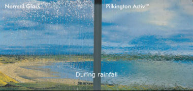 Self Cleaning Glass Pilkingtons Activ Range Duration Windows