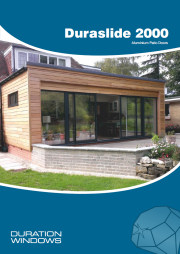 Aluminium Duraslide 2000 Patio Doors Brochure