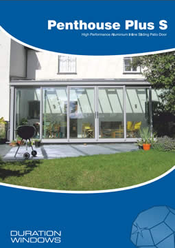 Penthouse Plus Aluminium Sliding Patio Doors Brochure