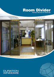 Aluminium Sliding Room Dividers Brochure