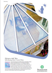 Pilkington Activ™ Blue Self Clean Solar Control Glass