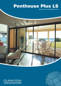 Penthouse Plus Aluminium Lift & Slide Patio Doors Brochure