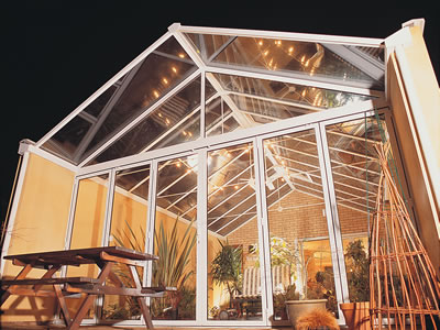 Georgian Gable Ended Conservatory Roof