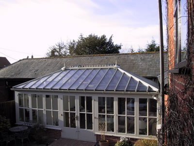 A Winter Garden Style Conservatory