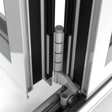 Continental Folding Doors High Quality Hardware