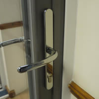 Bifolding Doors, traffic door handles