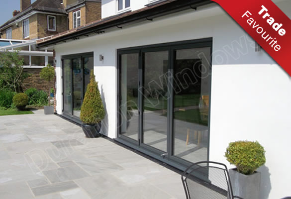 Durafold 1000 Bi Folding Doors Slim Line Folding Sliding Doors
