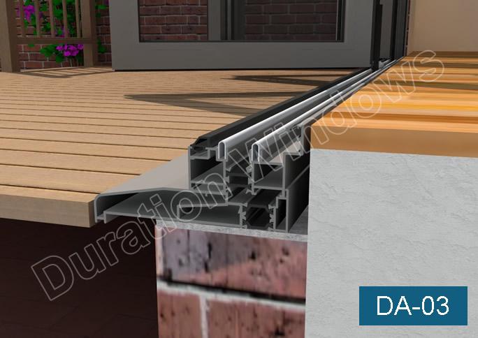 Durafold 1000 Bi Folding Doors Slim Line Folding Sliding