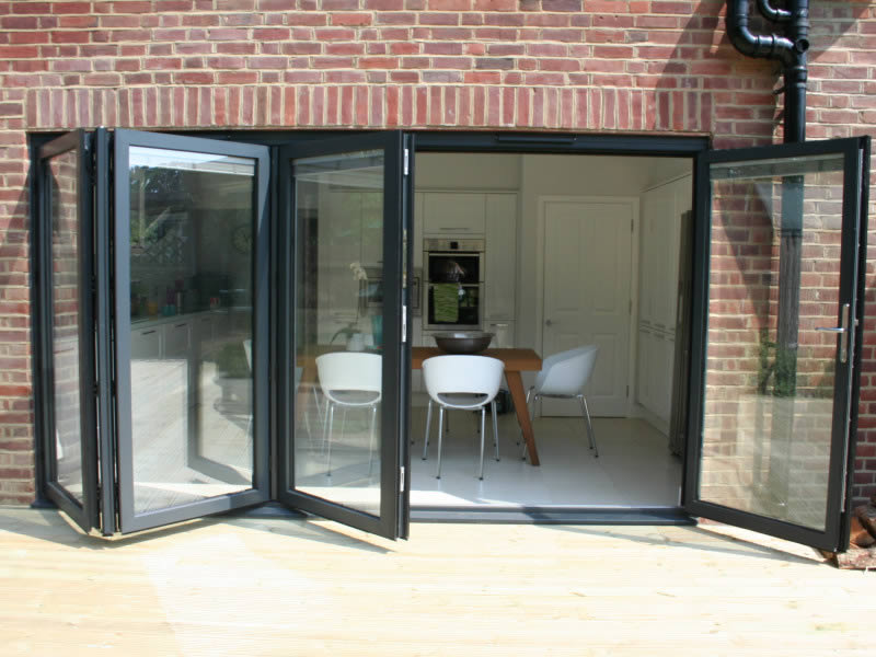 Aluminium Bi Folding Doors Folding Sliding Doors Bifold Doors Duration Windows