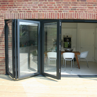 Aluminium Bi-folding Sliding Doors