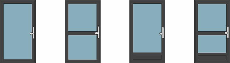 Smarts Residential Aluminium Doors : Styles and Designs - Duration Windows