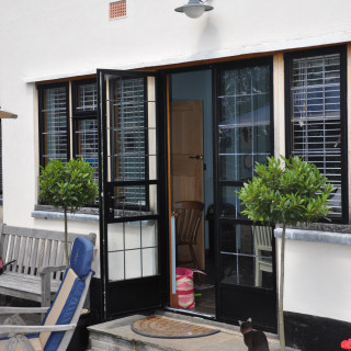 Aluminium Steel Replacement Doors