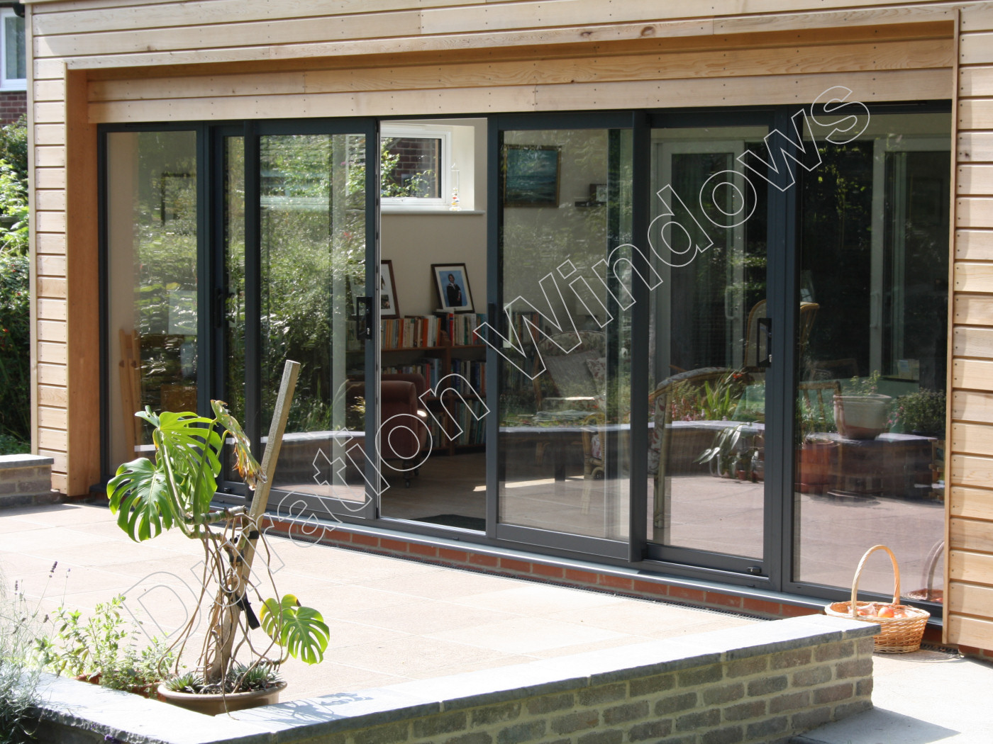 Duraslide 2000 aluminium sliding patio doors gallery for Aluminium patio doors
