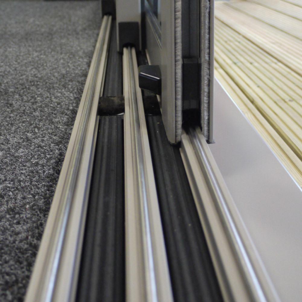 Patio Door Track Hardware: Duraslide 2000 Aluminium Sliding Patio Doors, Hardware And