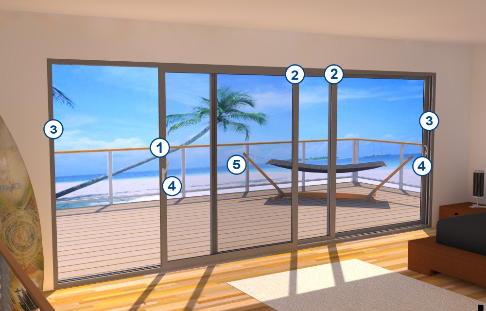 Penthouse Patio Door Security-Features