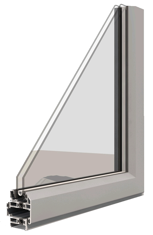 Royale Putty-line Aluminium Steel Replacement Windows