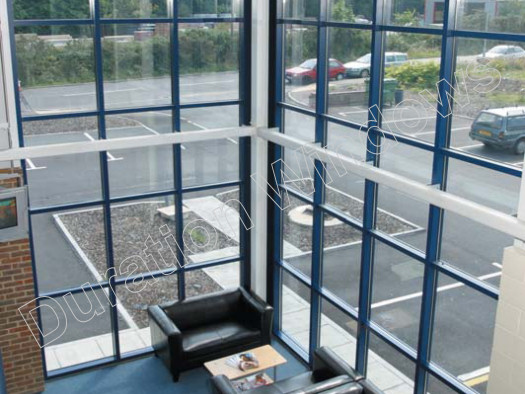Low Rise Curtain Walling Commercial Screen System