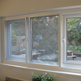 Flyscreens in Secondary Glazing