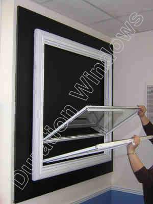 Vertical Sliding Secondary Glazing
