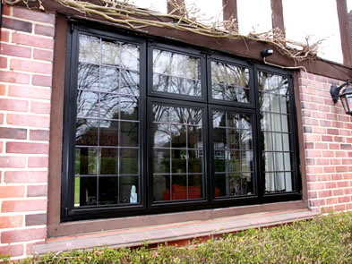 Thermally Efficient Aluminum Steel Replacement Windows