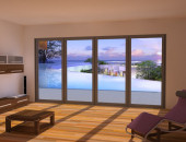 Three Brand New Folding Sliding Doors