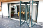 Dual Colour Bifold Doors